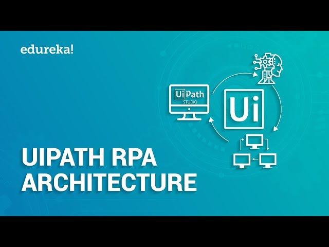 UiPath RPA Architecture | UiPath Studio, Robot & Orchestrator | UiPath Platform Components | Edureka
