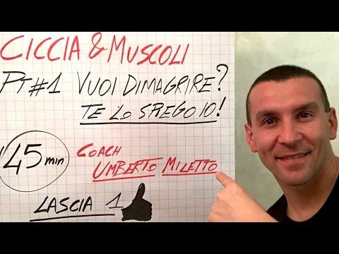 😱 VUOI DIMAGRIRE? TE LO SPIEGO IO 👍 IN DIRETTA LIVE! CICCIA & MUSCOLI #1