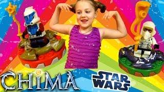 Конструктор Звездные Войны и набор Лего Чима смотреть Открываем собираем и играем