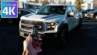 2017 FORD RAPTOR SUPERCREW - IN DEPTH WALKAROUND STARTUP EXTERIOR INTERIOR TECH & TRUCK BED