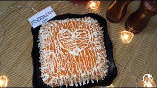 Слоеный салат со свежей морковью и крабовыми палочками: рецепт от Foodman.club