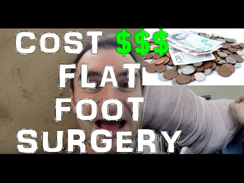 how much does reconstructive foot surgery cost