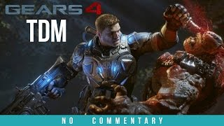 Gears of Wars 4 Multiplayer Gameplay - TEAM DEATHMATCH (No Commentary)