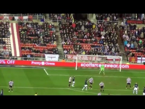 Fan Footage Match Highlights & Journey in a Mini Bus Sunderland 2 Manchester United 1  07.01.14