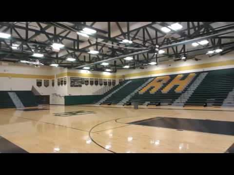 Rush-Henrietta RH Sperry High School new gym.