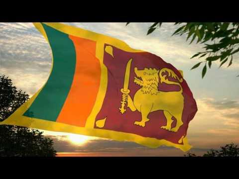 Flag and anthem of Sri Lanka
