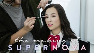 BTS The Making of Supernova Music Video (Part 1)
