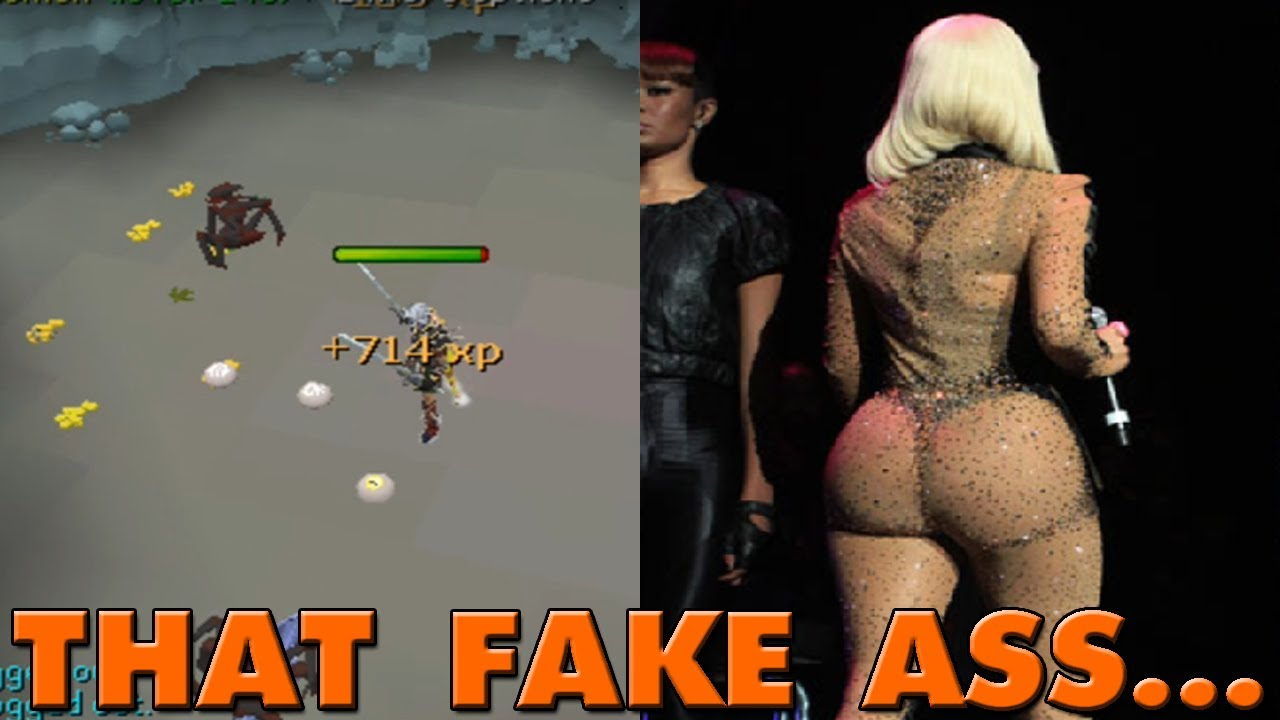 Fake ass real ass