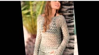 Женское вязание    Элегантные вязаные кофточки для женщин