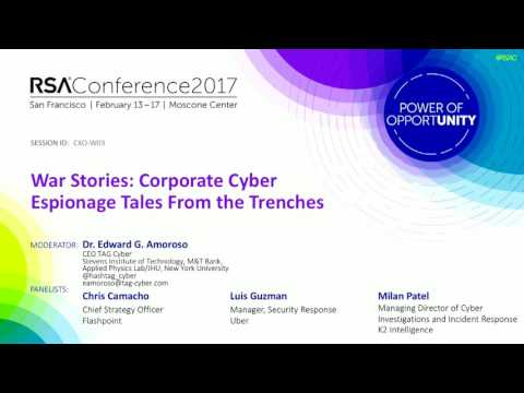 War Stories: Corporate Cyberespionage Tales from the Trenches