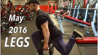 All Dumbbell Leg Workout - May 2016