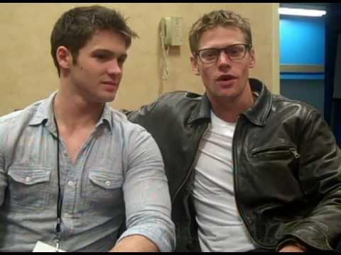 Zach Roerig & Steven McQueen. The Vampire Diaries  EYECON