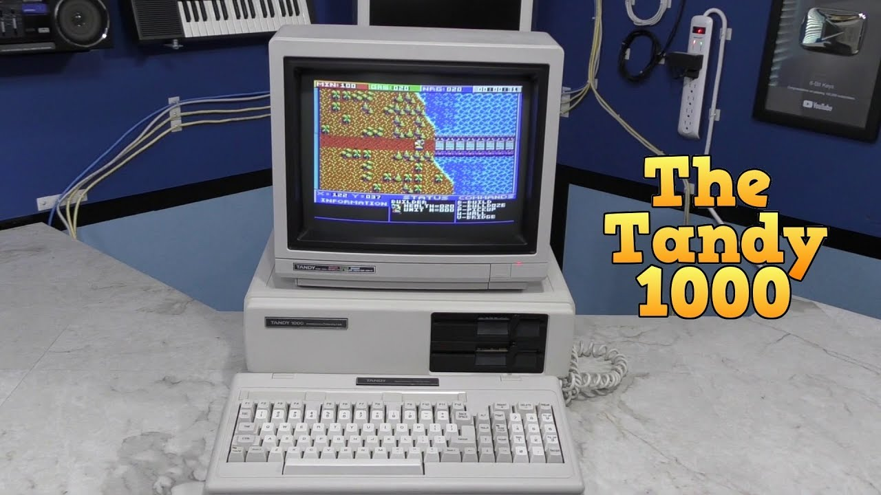 the tandy 1000 the