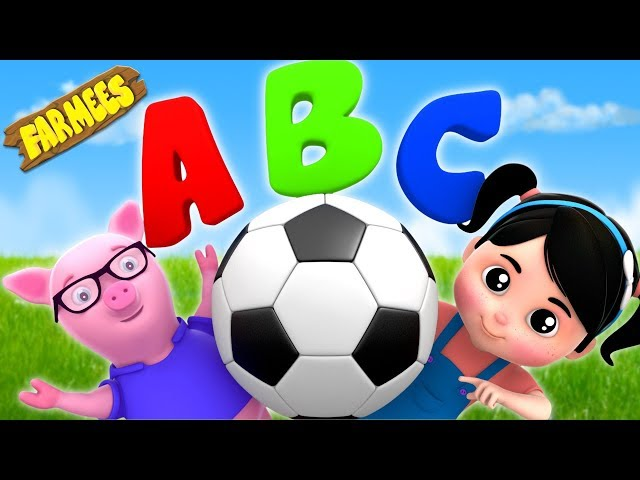 ABC Soccer Song | Nursery Rhymes And Cartoons by Farmees
