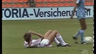 Bayer Uerdingen - VfB Stuttgart - 6:4 n.V.- 1. Hauptrunde DFB-Pokal 1986/1987 - 30.08.1986