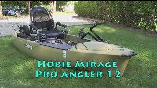 Hobie Mirage Pro Angler 12 fishing setup