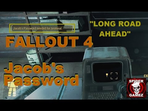 Fallout 4 - How To Unlock The Terminal In The Med-Tech Research Building (Jacob's Password)