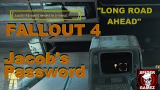 Fallout 4 - How To Unlock The Terminal In The Med-Tech Research Building Jacob s Password