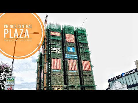 [4K]Prince Central Plaza Cambodia Skyscraper - Under Construction 2