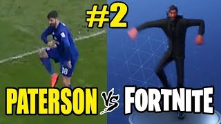 Cardiff City Football Player Callum Paterson does Best Mates Fortnite Emote Celebration v Burton