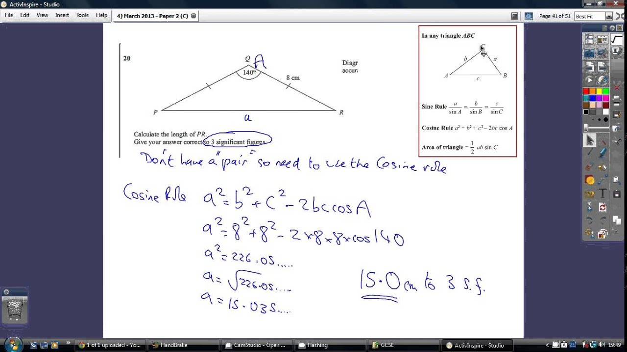 edexcel gcse mathematics a paper 1 28 february 2013 mark