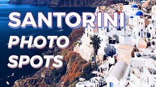 9 Best Secret Photo Spots in SANTORINI, GREECE // How to explore Oia in 1 day
