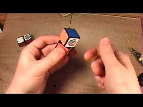 How To Make A 1x1x2 Rubik's Cube