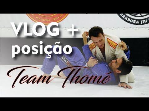 Vlog + posição Filipe Thomé - Jiu Jitsu - BJJCLUB