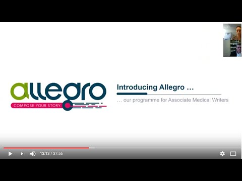 FirstMedCommsJob: All About The Allegro Training Programme From Ashfield Healthcare Communications