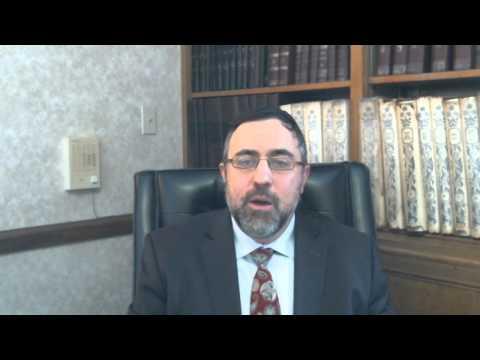 Video Vort - Vayakhel 5774 - Rabbi Etan Tokayer
