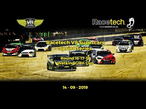 Racetech V8 Supercars - Sprint Series | Rounds 16-17-18 - Watkins Glen Cup