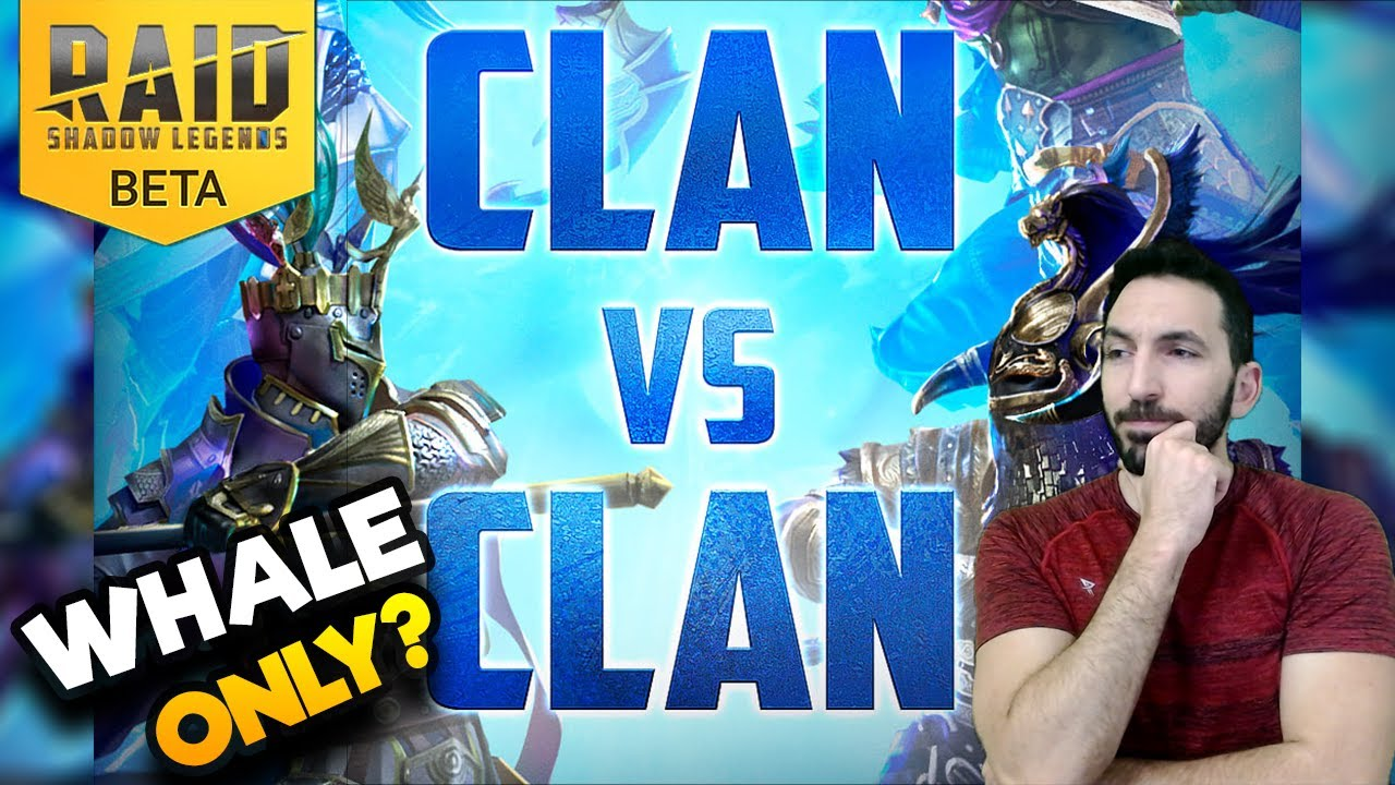 WHALES ONLY?! - FIRST LOOK INTO CVC | Clan Vs Clan | RAID SHADOW LEGENDS