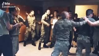 Türk askerinin güreşi böyle olur