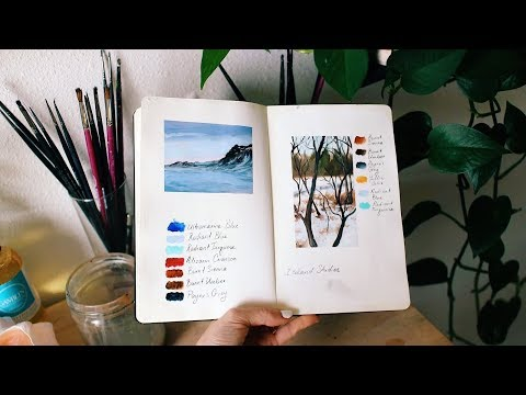 Artist's Block and Fear | Sketchbook Sunday #41