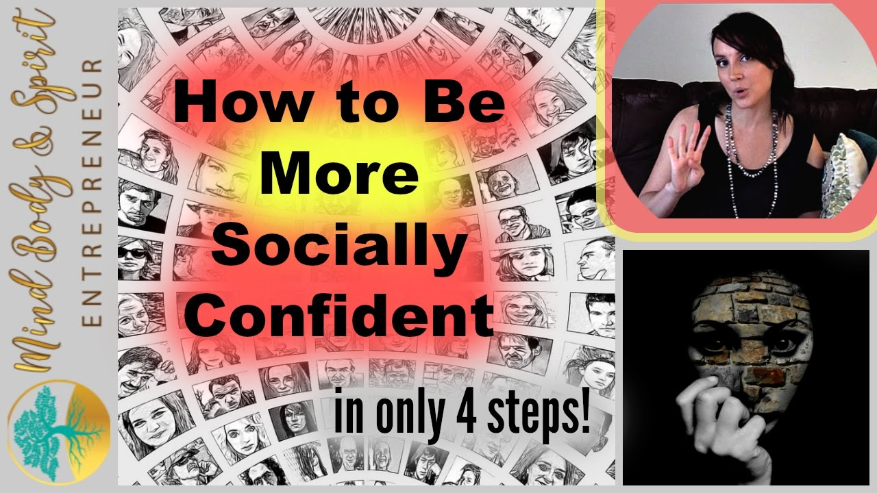 How to Be Socially Confident advise