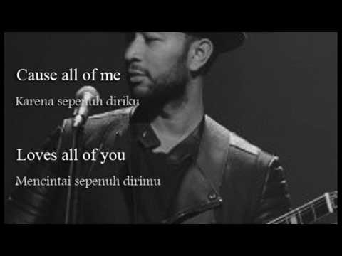 Lirik All of Me   John Legend Dan Terjemahan Arti Indonesia Boyce Avenue acoustic