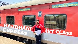 Rajdhani Express First Class | Rajdhani 1st AC Coach | Coupe in Indian Railways