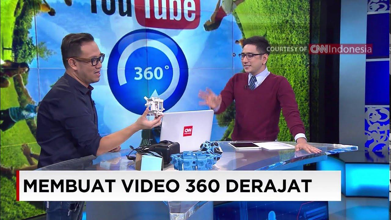 CNN INDONESIA TECH NEWS VIDEO 360 DERAJAT
