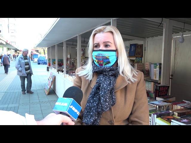 Umesto Sajma knjiga Ana Berbakov predstavlja knjige na otvorenom štandu