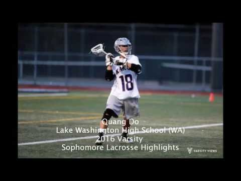 Quang Do Sophomore 2016 Lacrosse Highlights (Class of 2018)