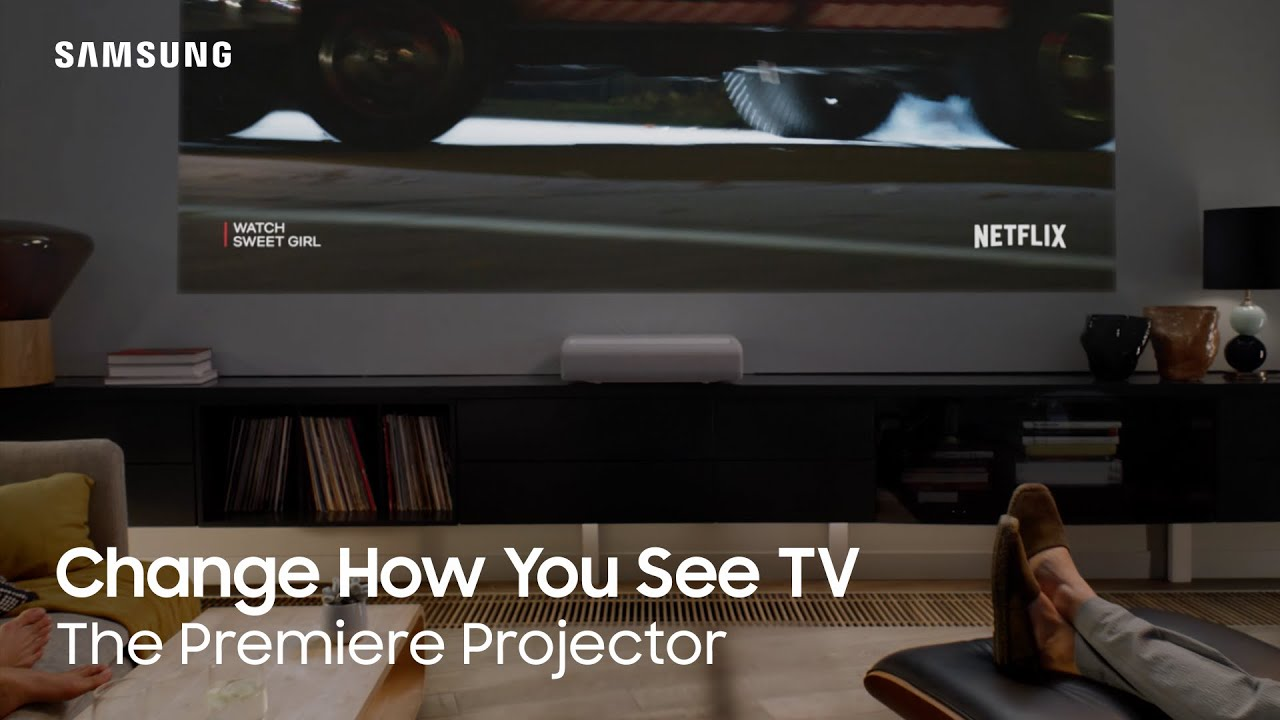 Change How You See TV   The Premiere 4K Projector   Samsung