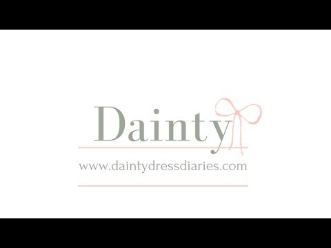 Shabby. ie & Dainty Dress Diaries have a live chat