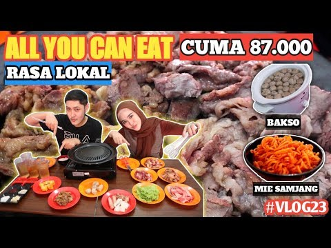 all-you-can-eat-murah---korean-bbq-enak-cibubur-cuma-87.000-|-uncle-park-cibubur---vlog-#23