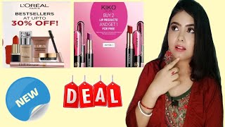 BEAUTY NEWS THIS WEEK-#2 /MAYBELLINE BUY 1 GET 1/ COLOBAR/KIKO MILANO #bntw