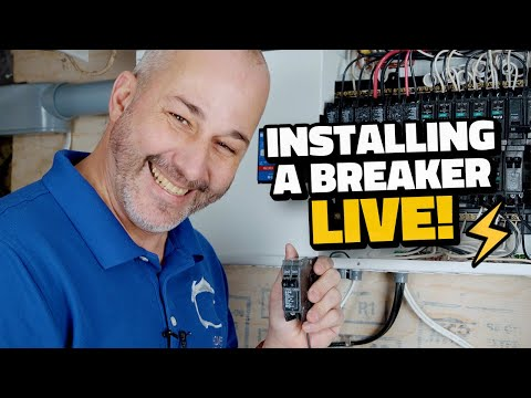 How to Install a Breaker In Your Panel | LIVE!
