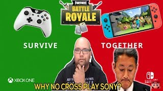 Xbox and Nintendo TROLL sony over cross play and its well deserved
