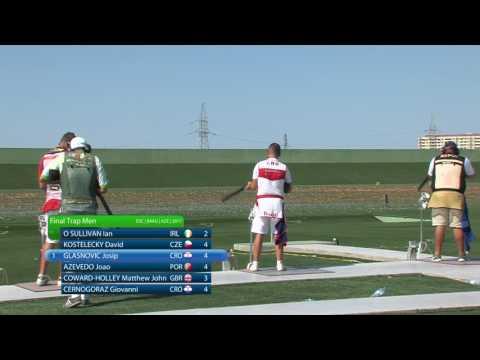 2017 European Championship, Baku, Azerbaijan - Trap Men