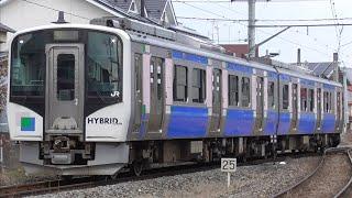 「まもなく消滅」仙石東北ライン2両運用  (HB-E210系) 〈5572D〉@陸前山下