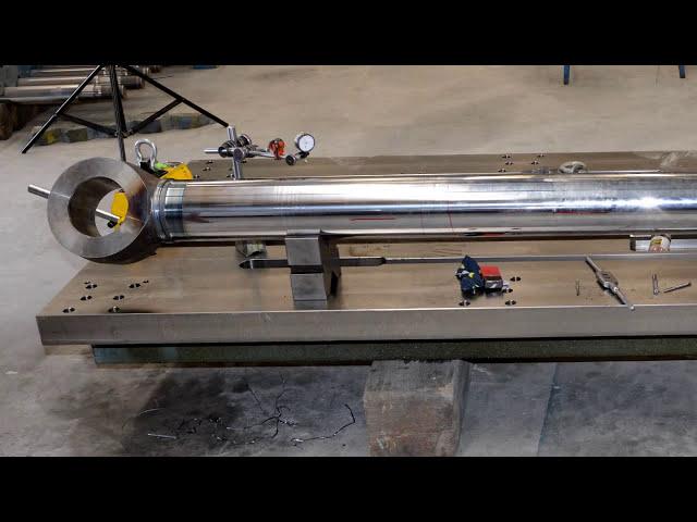 200 Tonnen Reibschweißmaschine