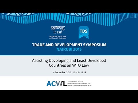 TDS LIVE | Assisting Developing and Least Developed Countries on WTO Law